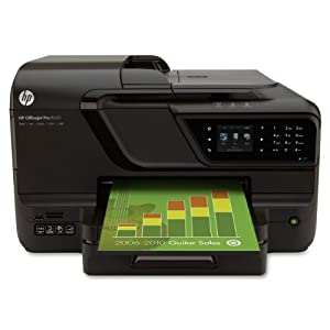 HP Officejet Pro 8600 e-All-in-One Wireless Color Printer with Scanner, Copier & Fax