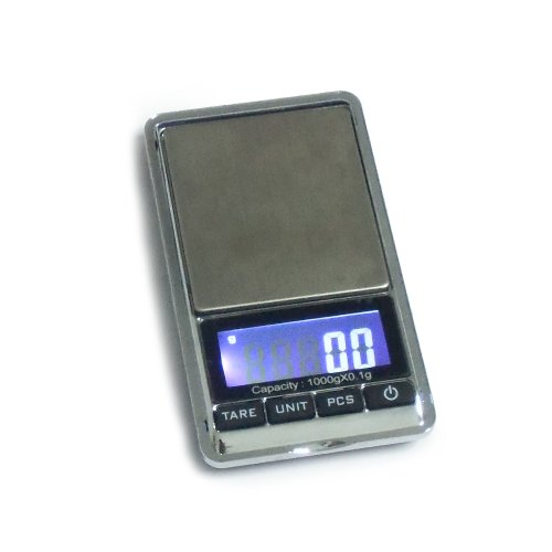 Givesurprise Scales Ds-16 Mini Digital Pocket Jewelry Scale With Backlit Lcd Display, 1000 By 0.1 G