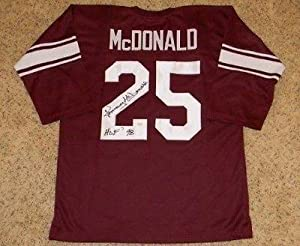 Signed Tommy McDonald Jersey - OU OKLAHOMA SOONERS #25 THROWBACK - JSA Certified -... by Sports+Memorabilia