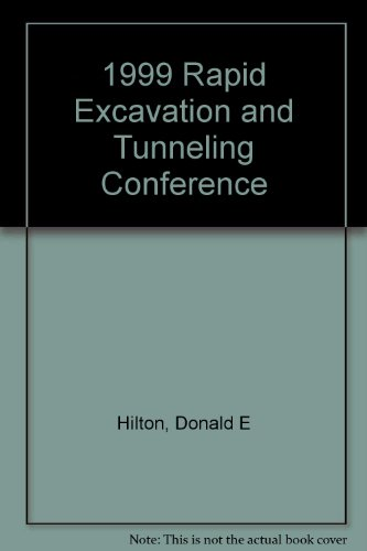 1999 Rapid Excavation And Tunneling Conference front-591957