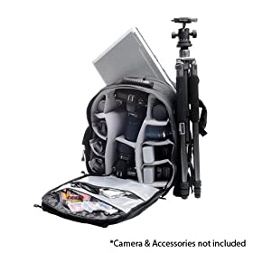 Aktiv PAK Professional All Weather Multi Purpose Photo/Computer Laptop Backpack for Canon Rebel XSi, XS, T1i, XTi, 50D, Nikon D40, D60, D5000, D90