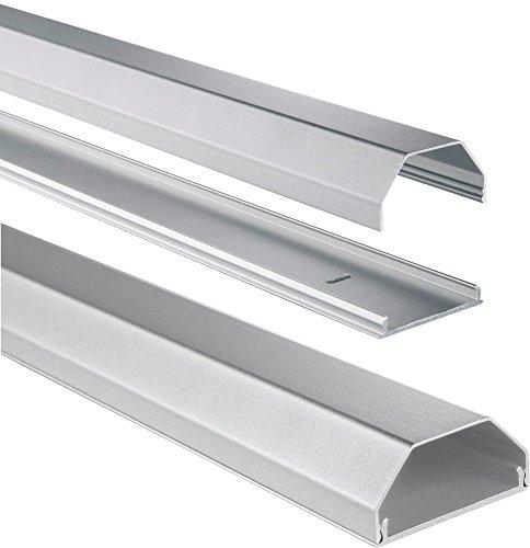 hama-kabelkanal-alu-aluminium-eckig-110-x-5-x-26-cm-bis-zu-8-kabel-silber