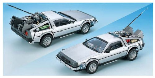 Dragon Models Back to The Future Delorean Model Kit, Scale 1:24 (Delorean Model Kit compare prices)