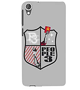 People 3 Designer Back Case Cover for HTC Desire 820 - B1657