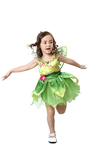 Ylina Angel Kids Halloween Costume Dress Skirt Gown Outfit Cosplay Girl