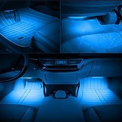 12V LED Atmostphere Light Strip Car Interior Decoration Strobe Lamp Modification Lighting