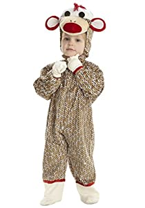 Underwraps Baby Boys' Sock Monkey Costume