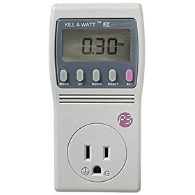 41nMQyqE75L. SL500 AA280  P3 International P4460 Kill A Watt EZ Electricity Usage Monitor   $38 Shipped