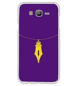 Nib Necklace 2D Hard Polycarbonate Designer Back Case Cover for Samsung Galaxy E7 (2015) :: Samsung Galaxy E7 Duos :: Samsung Galaxy E7 E7000 E7009 E700F E700F/DS E700H E700H/DD E700H/DS E700M E700M/DS