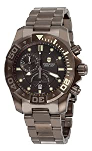 Victorinox Swiss Army Men's 241424 Dive Master 500 Chrono Black Dial Watch by Victorinox Swiss Army