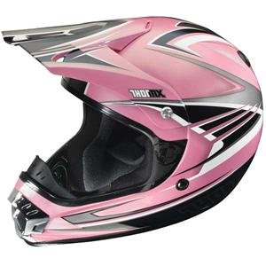 Amazon.com: Thor Motocross Women's Quadrant Helmet - Small ...