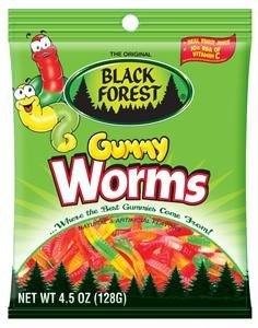 Black Forest Gummy Worms -- 4.5 oz (041420744020)