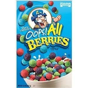 Cap'n Crunch OOPS! All Berries Cereal, 13 Ounces
