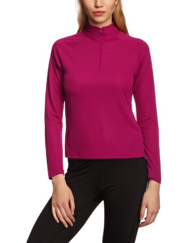 Berghaus Women's Essential Long Sleeve Zip Baselayer