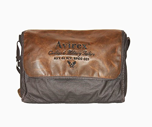 Messenger Avirex | D-Day | AVXDDYF07AI1516-Dark Brown