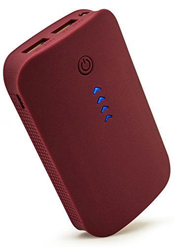 bastex-red-power-bank-external-charging-for-on-the-go-travel-dual-out-put-usb-ports-fast-charging-mc