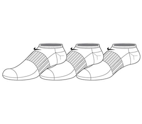 Nike No Show Socks Nfs 3PPK COTN Non Cush Ns Smlx
