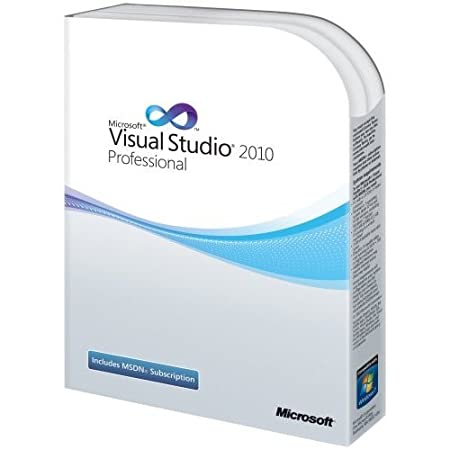 Visual Studio 2010 Professional Upgrade (Old Version)
