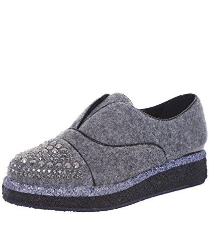 Alma en Pena Da Donna Franella feltro scarpe 38 Grigio