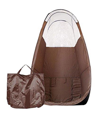 Brun Pop-Up Bronzage Compartiment - Maximist bronzage Tente Cabine