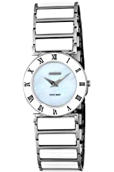 Jowissa Women's J2.134.M Roma Stainless Steel Mother-Of-Pearl Dial Roman Numeral Watch