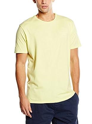 Springfield Camiseta Manga Corta (Amarillo Claro)