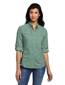 Exofficio Women's Bugs Away Halo Long Sleeve Shirt, Light Rosemary, X-Small