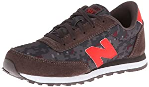 New Balance KL501 Youth Running Shoe (Little Kid/Big Kid),Black/Red/Camo,11.5 M US Little Kid