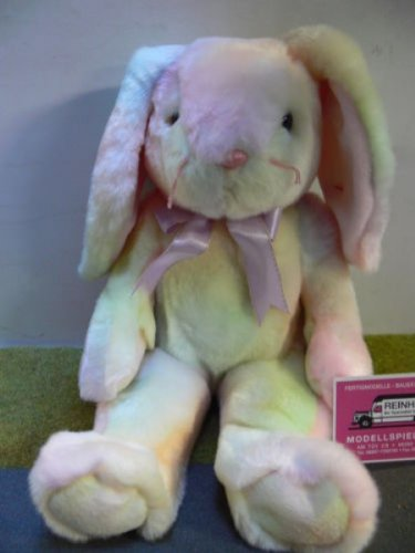 TY Beanie Buddy - HIPPIE the Ty-Dyed Bunny [Toy] - 1