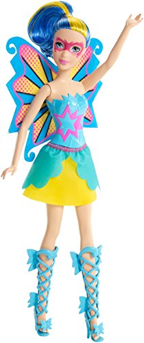 Barbie in Princess Power Butterfly Doll Blue - 1