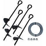 "Tie Down Engineering Eye Anchor Kit 15"" All Purpose #59070"