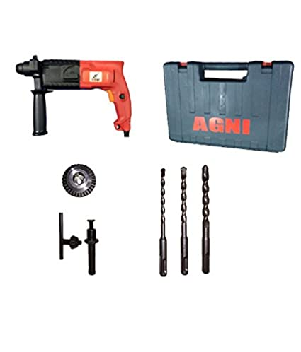 a1600 Powerful Rotary Hammer Drill 20mm With Kit Box