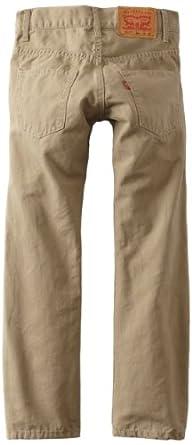 Levi's Big Boys' 511 Slim Fit Jean , CHINCHILLA, 8 Regular