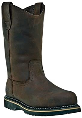 Mcrae Men's Industrial Safety Brown Leather Boot 6 M US