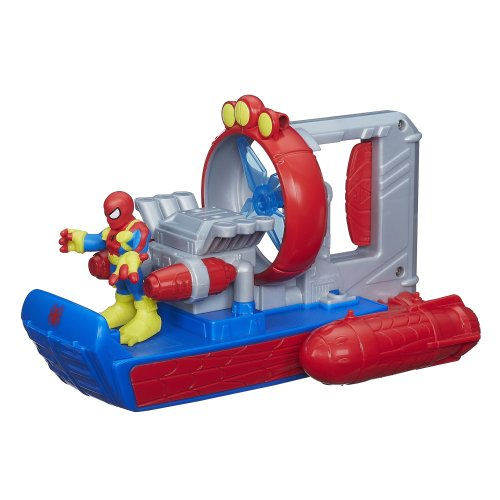 Playskool Heroes Marvel Super Hero Adventures Web Splash Spider Boat