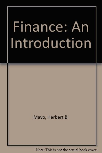 Finance: An Introduction