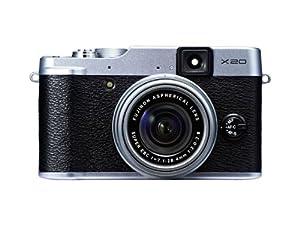 Fujifilm X20 Digital Camera Silver (12MP X-Trans CMOS II With EXR Processor II, 4x Optical Zoom) 2.8 inch Premium LCD