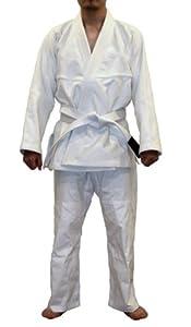 BlankGi Gold Weave Jiu Jitsu Gi - White A1