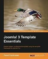 Joomla! 3 Template Essentials Front Cover