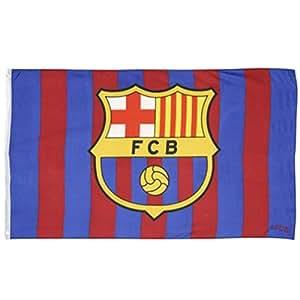 DRAPEAU OFFICIEL FC BARCELONE NEUF TAILLE 150X90 CM