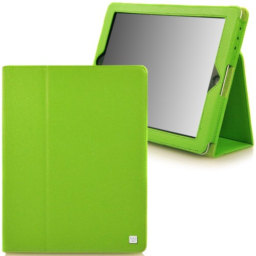 CaseCrown Bold Standby Case (Green) for iPad 4th Generation with Retina Display, iPad 3 & iPad 2 (Built-in magnet for sleep / wake feature)