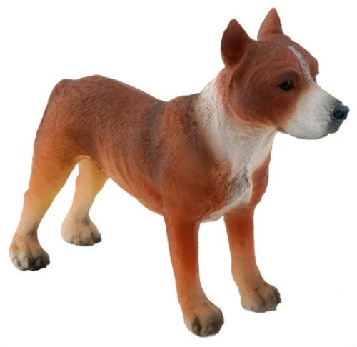 American Pitbull Terrier Dog - Collectible Figurine Statue Figure