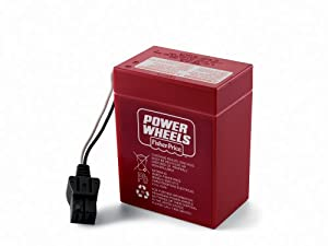 Power Wheels 6-Volt Rechargeable Battery by Fisher-Price