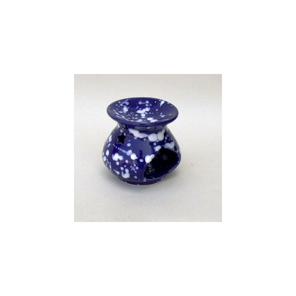 ITDC Ceramic Incense Oil Warmer, 3 High Designed for A Votive Candle