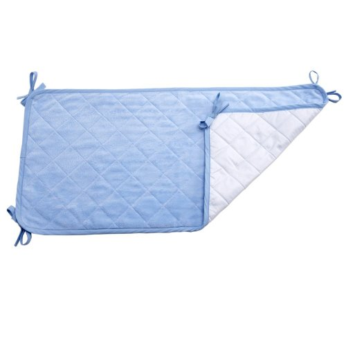 Nojo Coral Fleece Sheet Savers - Blue, Pack Of 2 front-609071