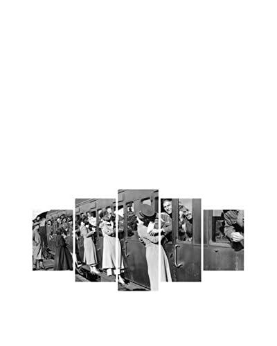 Black&White Panel Decorativo 5Bw00102 Blanco/Negro