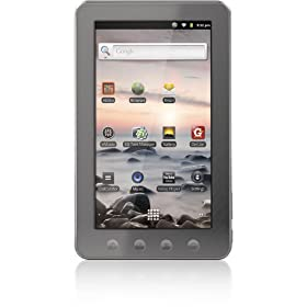 Coby Kyros 7-Inch Android 2.3 4 GB Internet Touchscreen Tablet with Capacitive Touchscreen Tablet - MID7014-4GB
