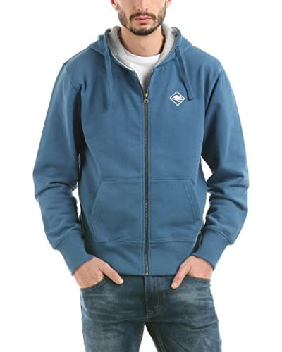 HOT BUTTERED Sudadera con Cierre Hb Sweat & Zip Azul M