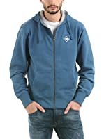 HOT BUTTERED Sudadera con Cierre Hb Sweat & Zip (Azul)
