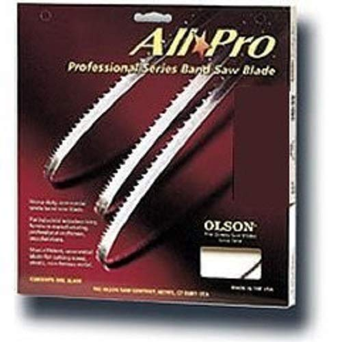 Olson Saw APG72689 AllPro PGT Band 3-TPI Hook Saw Blade, 1/2 by .025 by 89-1/2-Inch